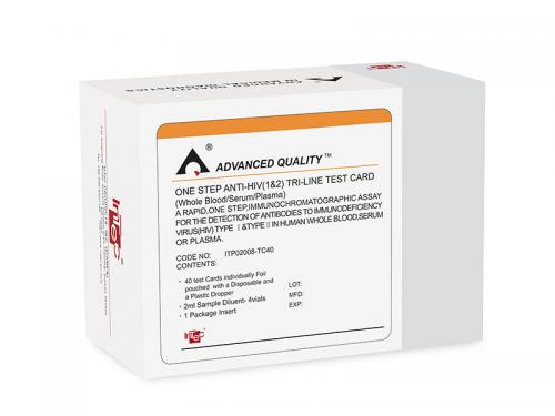 HIV Tri-line rapid test kit