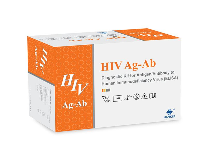 HIV Ag-Ab ELISA Test