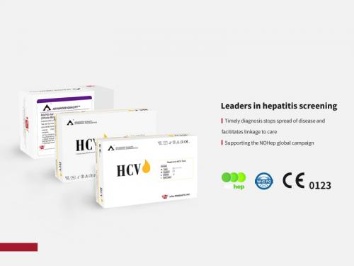Lateral flow Anti-HCV rapid test kits